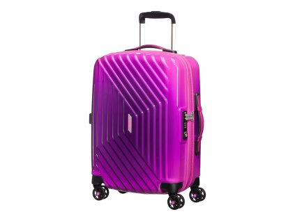 American Tourister AIR FORCE 1  SPINNER 55 GRAD. S - GRADIENT PINK