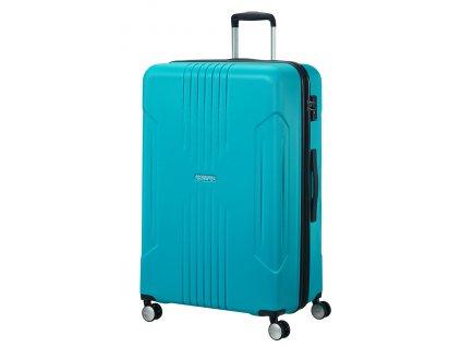 American Tourister TRACKLITE SPINNER 78 EXP L - SKY BLUE  + LED svítilna