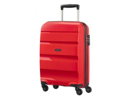 American Tourister BON AIR SPINNER S STRICT - MAGMA RED  + Sluchátka, myš nebo pouzdro