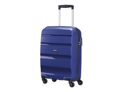 American Tourister BON AIR  SPINNER S STRICT - MIDNIGHT NAVY  + LED svítilna