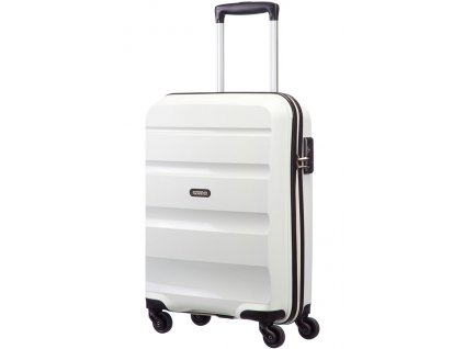 American Tourister BON AIR SPINNER S STRICT - WHITE  + Sluchátka, myš nebo pouzdro