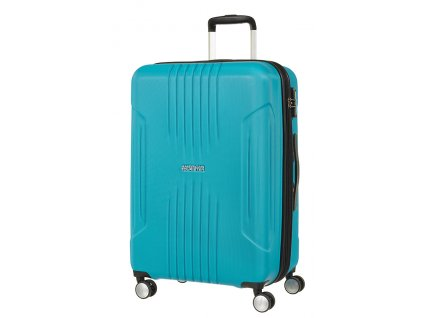 American Tourister TRACKLITE  SPINNER 67 EXP M - SKY BLUE