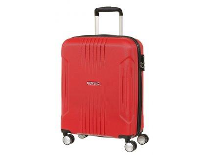 American Tourister TRACKLITE SPINNER 55 S - FLAME RED  + Sluchátka, myš nebo pouzdro