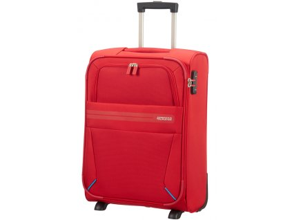 American Tourister SUMMER VOYAGER UPRIGHT 55 S - RIBBON RED  + Sluchátka, myš nebo pouzdro