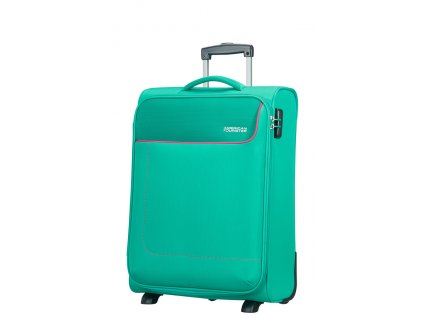 American Tourister FUNSHINE  UPRIGHT 55 S - AQUA GREEN