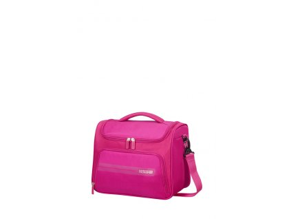 American Tourister SUMMER VOYAGER BEAUTY CASE - DEEP PINK