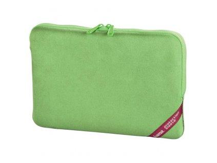5341 hama obal na notebook velour 26 cm 10 2 zelena