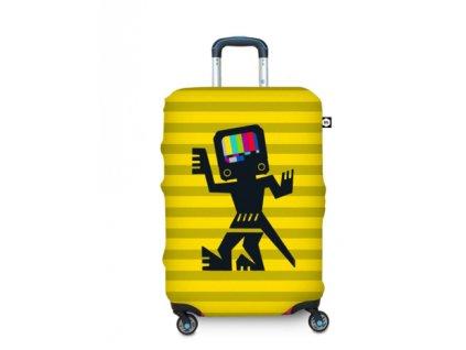 BG Berlin Hug Cover M Cave Man Yellow - Obal na kufr