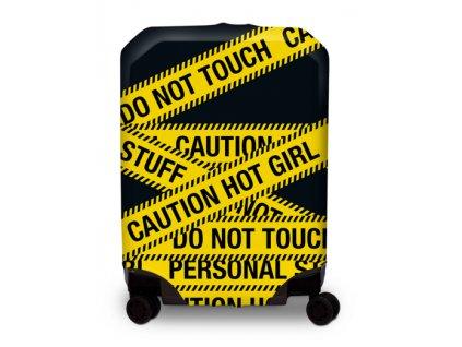 BG Berlin Hug Cover M Caution - Obal na kufr