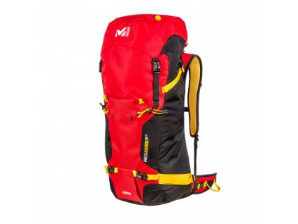 Millet PROLIGHTER 38+10 red - batoh  + Sluchátka, myš nebo pouzdro