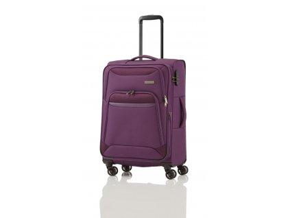 Travelite Kendo 4w M Purple  + Sluchátka, myš nebo pouzdro