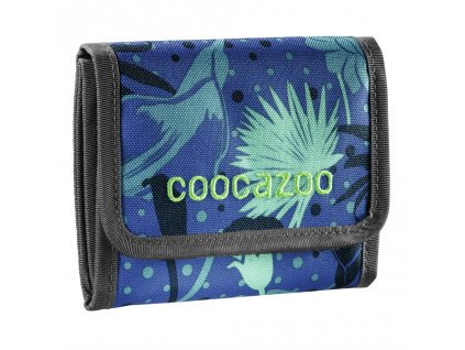 Peněženka CoocaZoo CashDash, Tropical Blue