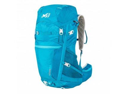 Millet ELIUM 30 LD blue - batoh  + LED svítilna