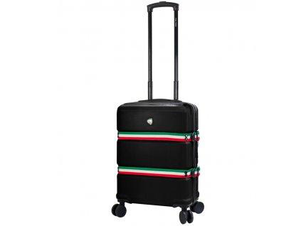 Kabinové zavazadlo MIA TORO M1543/3-S - černá  + LED svítilna