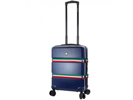 Kabinové zavazadlo MIA TORO M1543/3-S - modrá  + LED svítilna