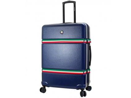 Cestovní kufr MIA TORO M1543 3-L - modrá + LED svítilna 3W 333b2cd592