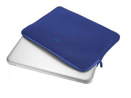 95295 4 trust primo soft sleeve for 15 6 laptops blue