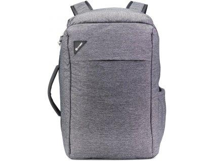 PACSAFE batoh VIBE 28 granite melange  + LED čelová svítilna