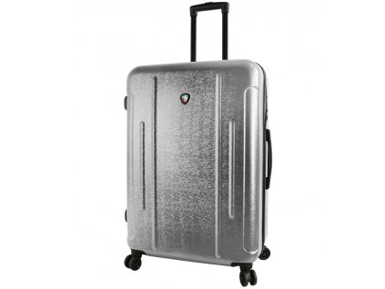 Cestovní kufr MIA TORO M1239/3-L - stříbrná  + Sluchátka, myš nebo pouzdro