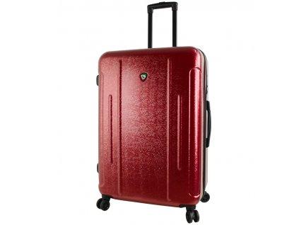Cestovní kufr MIA TORO M1239/3-L - vínová  + LED svítilna
