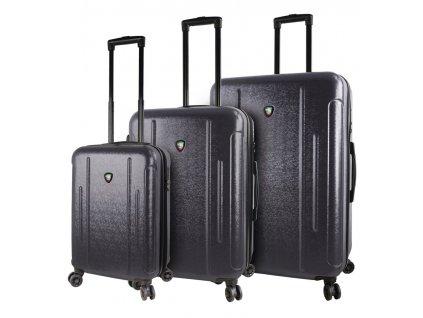 Sada cestovních kufrů MIA TORO M1239/3 - černá  + LED svítilna