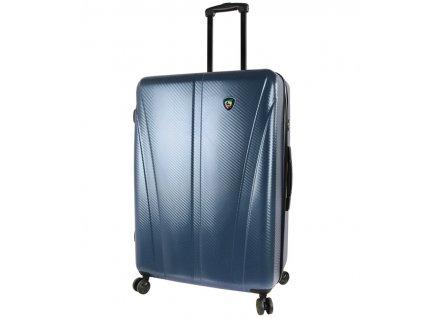 Cestovní kufr MIA TORO M1238/3-L - modrá  + LED svítilna