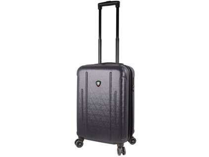 Kabinové zavazadlo MIA TORO M1239/3-S - černá  + LED svítilna