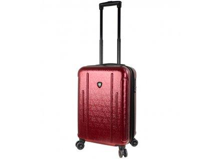 Kabinové zavazadlo MIA TORO M1239/3-S - vínová  + LED svítilna