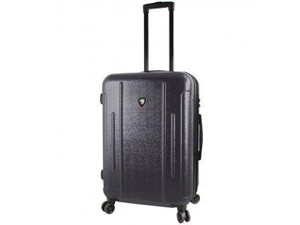 Cestovní kufr MIA TORO M1239/3-M - černá  + LED svítilna