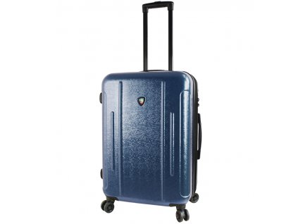 Cestovní kufr MIA TORO M1239/3-M - modrá  + LED svítilna