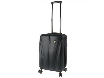 Kabinové zavazadlo MIA TORO M1238/3-S - černá  + LED svítilna