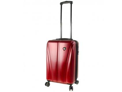 Kabinové zavazadlo MIA TORO M1238/3-S - vínová  + LED svítilna