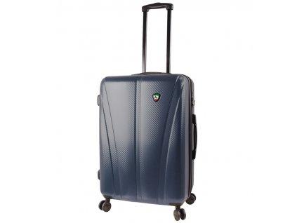 Cestovní kufr MIA TORO M1238/3-M - modrá  + LED svítilna