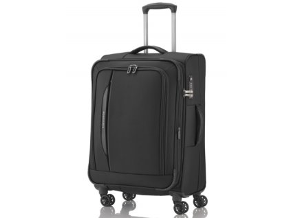 Travelite CrossLITE 4w M Black  + LED svítilna