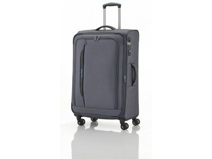 Travelite CrossLITE 4w L Anthracite  + Sluchátka, myš nebo pouzdro
