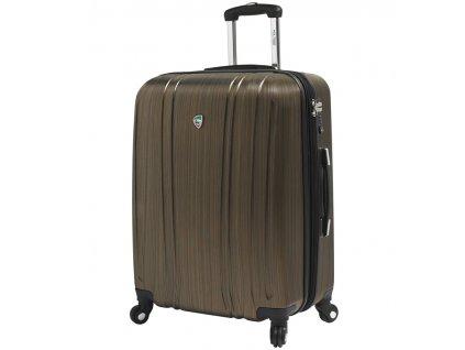 Cestovní kufr MIA TORO M1093/3-M - zlatá  + LED svítilna