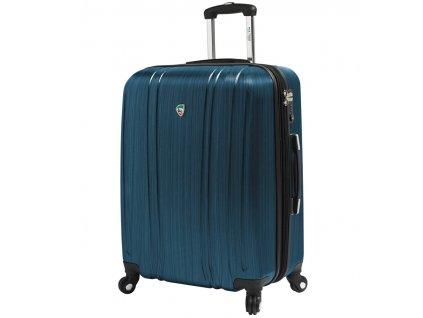 Cestovní kufr MIA TORO M1093/3-L - modrá  + LED svítilna