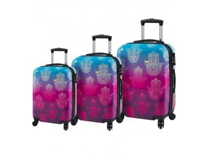 Sada cestovních kufrů MIA TORO M1092/3  + LED svítilna