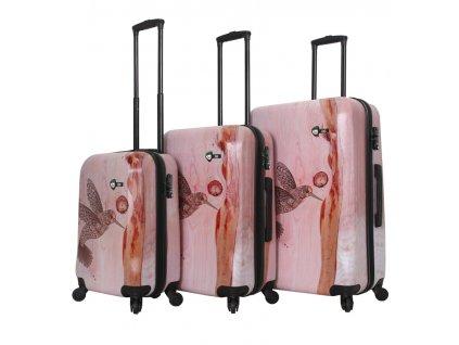 Sada cestovních kufrů MIA TORO M1338/3  + LED svítilna