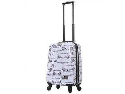 Kabinové zavazadlo MIA TORO HALINA H1013/3-S  + LED svítilna