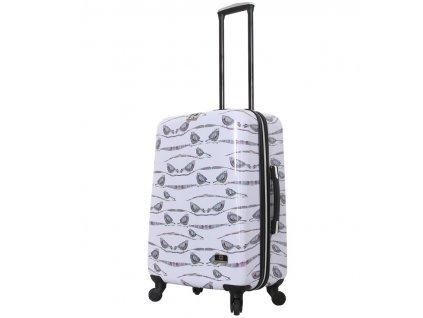 Cestovní kufr MIA TORO HALINA H1013/3-M  + Sluchátka, myš nebo pouzdro