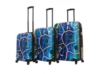 Sada cestovních kufrů MIA TORO M1365/3  + Sluchátka, myš nebo pouzdro