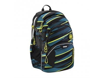 Školní batoh Coocazoo JobJobber2, Wild Stripe  + LED svítilna