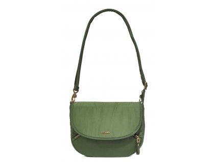 PACSAFE taška STYLESAFE CROSSBODY kombu green  + Sluchátka, myš nebo pouzdro