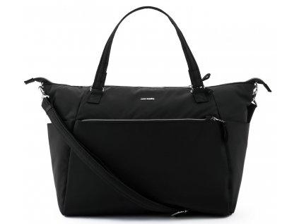 PACSAFE taška  STYLESAFE TOTE black  + LED svítilna