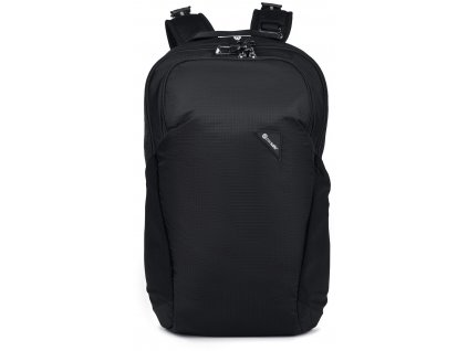 PACSAFE batoh VIBE 20 jet black  + LED svítilna