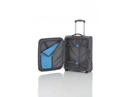 Travelite CrossLITE 2w S Anthracite  + Sluchátka, myš nebo pouzdro