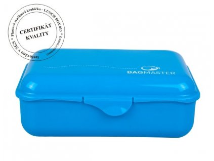 Bagmaster Svačinová krabička LUNCH BOX 013 B BLUE