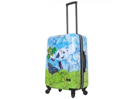 Cestovní kufr MIA TORO HALINA H1007/3-M  + LED svítilna
