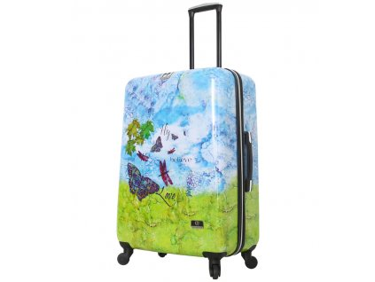 Cestovní kufr MIA TORO HALINA H1007/3-L  + LED svítilna